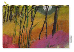 Carry-all Pouch featuring the painting Patchwork Field by John Williams