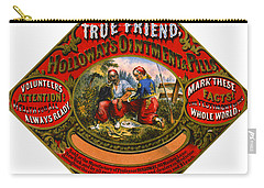 Carry-all Pouch featuring the photograph Patent Medicine Label 1862 by Padre Art