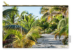 Path Along The Palms Carry-all Pouch