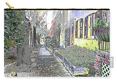 Carry-all Pouch featuring the photograph Path Beyond by EDi by Darlene