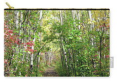 Path In The Woods 3 Carry-all Pouch
