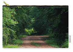 Carry-all Pouch featuring the photograph Path Of Light Horizontal by Shelby Young
