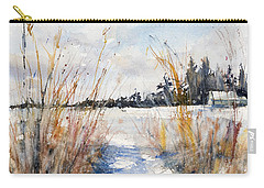 Path Shadows In The Way Back Carry-all Pouch by Judith Levins