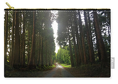 Path Through The Woods Carry-all Pouch