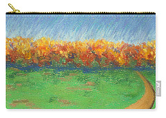 Path To Autumn Trees Carry-all Pouch
