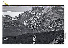 Carry-all Pouch featuring the photograph Path To Longs Peak by Dan Sproul