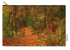Path To Myklebust Lake Carry-all Pouch by Trey Foerster