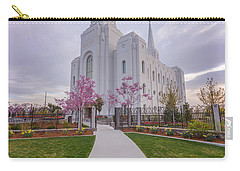 Carry-all Pouch featuring the photograph Path To Salvation by Dustin LeFevre