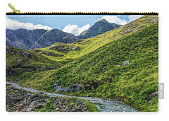 Carry-all Pouch featuring the photograph Path To Snowdon by Ian Mitchell