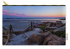 Path To The Beach Carry-all Pouch by Tim Kirchoff