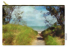 Path To Whihala Beach 2 Carry-all Pouch by Cedric Hampton