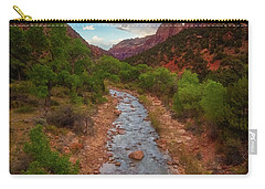 Carry-all Pouch featuring the photograph Path To Zion by Darren White