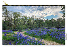 Pathway Through The Flowers Carry-all Pouch