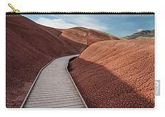 Carry-all Pouch featuring the photograph Pathway Through The Reds by Greg Nyquist