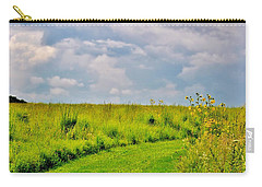 Pathway Through Wildflowers Carry-all Pouch