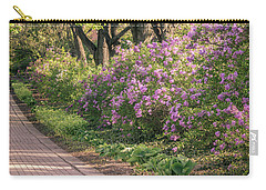 Pathway To Beauty In Lombard Carry-all Pouch by Joni Eskridge