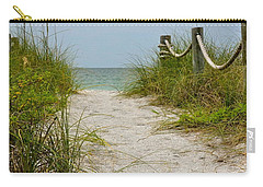 Pathway To The Beach Carry-all Pouch by Carol  Bradley