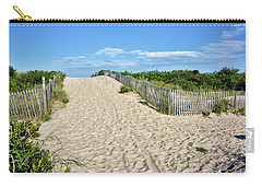 Pathway To The Beach - Delaware Carry-all Pouch by Brendan Reals
