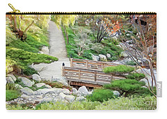 Pathway Trough Japanese Garden Carry-all Pouch