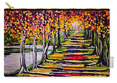 Pathyway To The Light Carry-all Pouch by Kathleen Sartoris