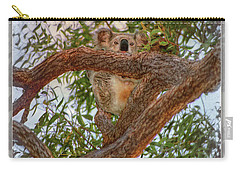 Carry-all Pouch featuring the photograph Patience Brings Koalas by Hanny Heim