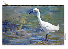 Patient Egret Carry-all Pouch