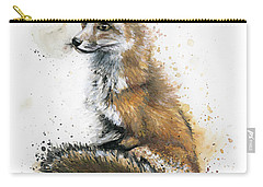 Patiently Waiting Carry-all Pouch by Arleana Holtzmann