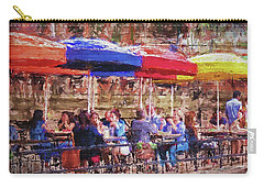 Patio At The Riverwalk Carry-all Pouch