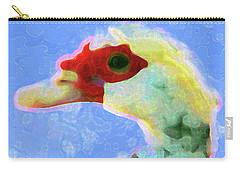 Pato Portrait  Carry-all Pouch