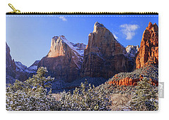 Carry-all Pouch featuring the photograph Patriarchs by Chad Dutson