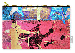 Carry-all Pouch featuring the painting Patriot Act by Dominic Piperata