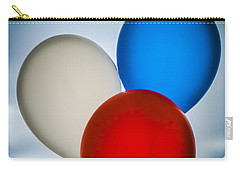 Carry-all Pouch featuring the photograph Patriotic Balloons by Carolyn Marshall