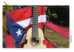 Patriotic Cuatro Carry-all Pouch by The Art of Alice Terrill