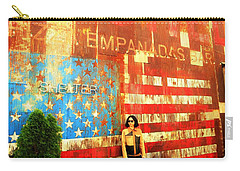 Patriotic Empanadas Wall In New York  Carry-all Pouch
