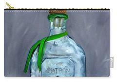 Patron Silver Tequila Bottle Man Cave  Carry-all Pouch
