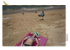 Carry-all Pouch featuring the photograph Pattaya Beach by Setsiri Silapasuwanchai