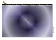 Carry-all Pouch featuring the digital art Pattern 43 by John Krakora