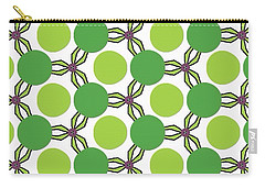 Pattern Green Carry-all Pouch
