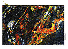 Carry-all Pouch featuring the photograph Patterns In Stone - 188 by Paul W Faust - Impressions of Light