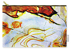 Carry-all Pouch featuring the photograph Patterns In Stone - 201 by Paul W Faust - Impressions of Light