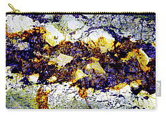 Carry-all Pouch featuring the photograph Patterns In Stone - 212 by Paul W Faust - Impressions of Light