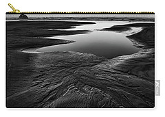 Carry-all Pouch featuring the photograph Patterns In The Sand by Jon Glaser