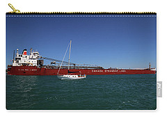 Paul J. Martin And Sailboat Carry-all Pouch
