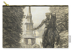 Paul Revere Rides Sketch Carry-all Pouch