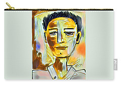 Pauls Portrait Carry-all Pouch by Elaine Lanoue