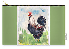 Paunchy Rooster Carry-all Pouch