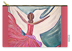 Carry-all Pouch featuring the painting Fortress by Jessica Eli