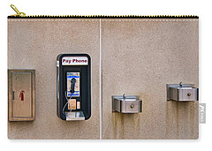 Pay Phone And Bubblers - Madison - Wisconsin Carry-all Pouch