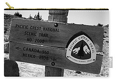 Pct Scenic Trail Carry-all Pouch by David Lee Thompson