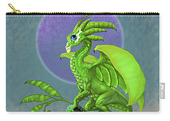 Pea Pod Dragon Carry-all Pouch by Stanley Morrison